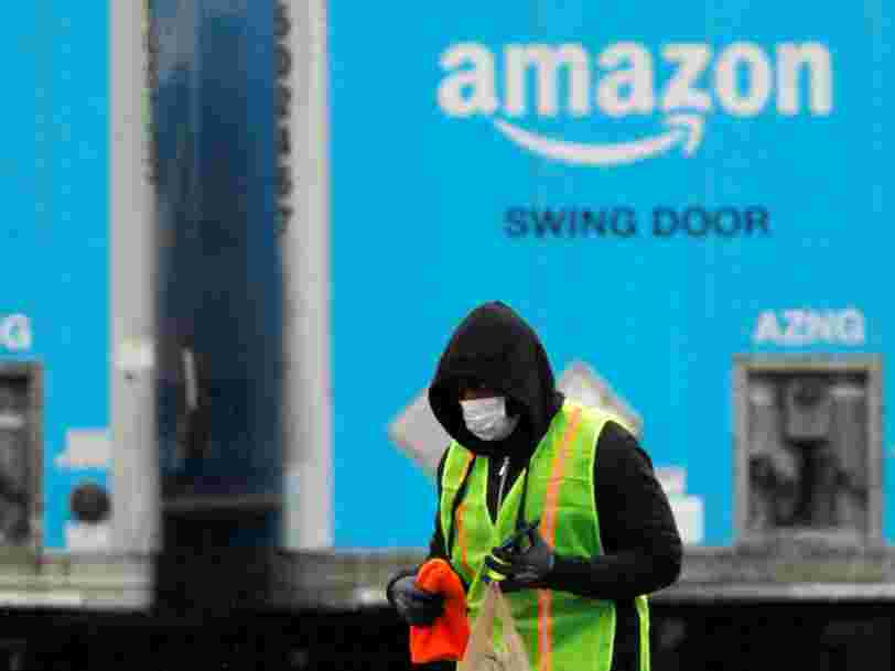At an Amazon facility in Italy, 30% of workers have reportedly stopped showing up due to fears of the coronavirus