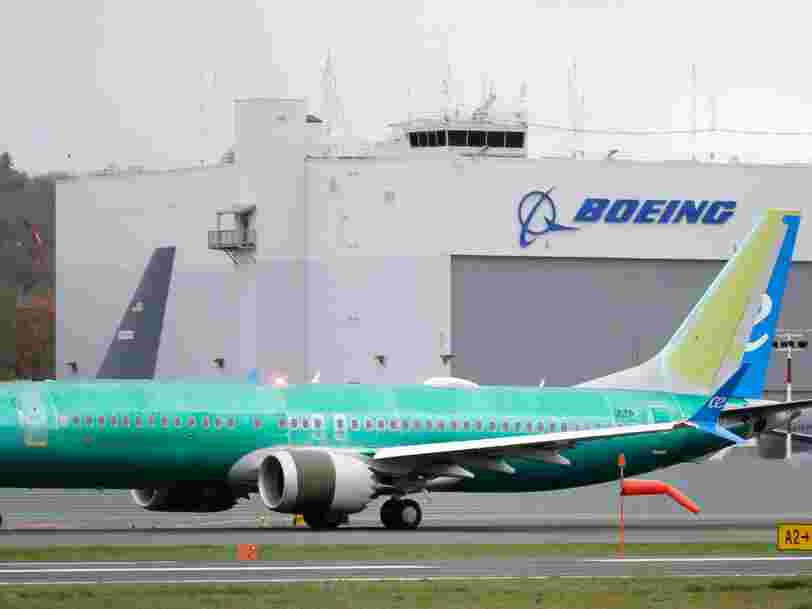 Boeing reportedly plans to restart production of 737 Max planes by May despite coronavirus uncertainty