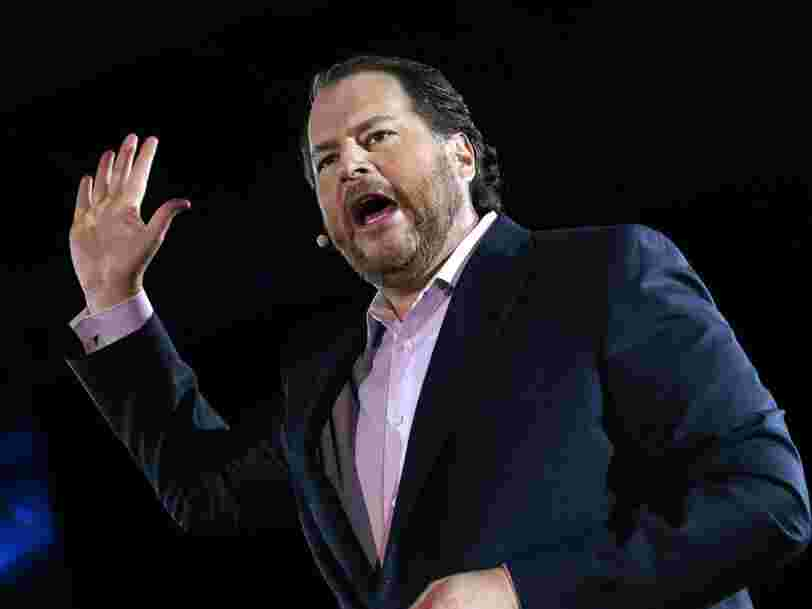 Tech billionaire Marc Benioff wants every CEO to take a 'no layoff' pledge as part of an 8-point plan to deal with coronavirus