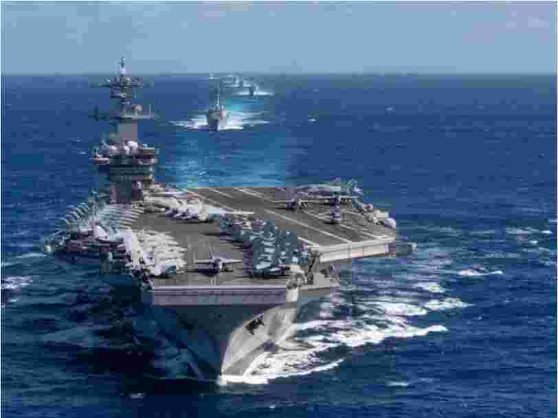US Navy fires the captain of the aircraft carrier stricken by a coronavirus outbreak