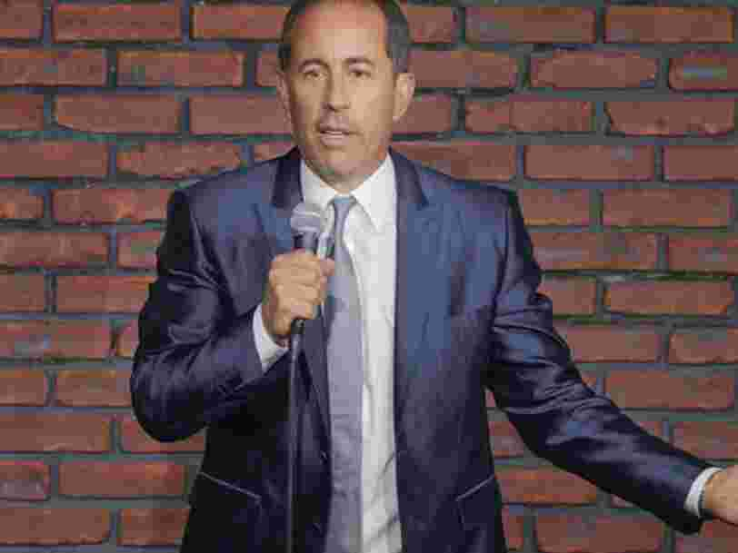 Jerry Seinfeld's new Netflix comedy special debuts next month as part of a reported $100 million deal. Here are 6 comedians Netflix has paid huge amounts of money to.