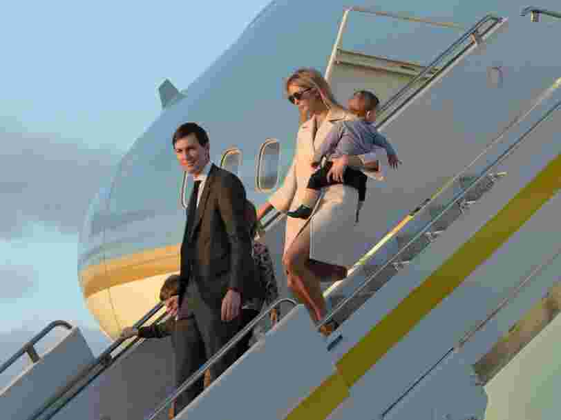 Ivanka Trump broke her own stay-at-home advice and traveled 200 miles from DC to a Trump golf club in New Jersey to celebrate Passover
