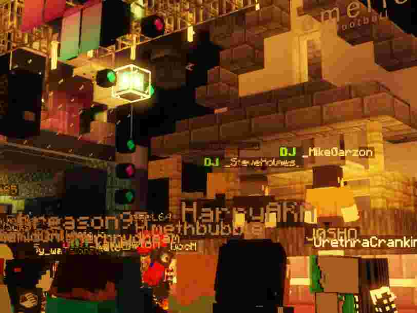 A Brooklyn nightclub recreated itself in 'Minecraft' to host a virtual concert and raise money for coronavirus relief — see what it was like