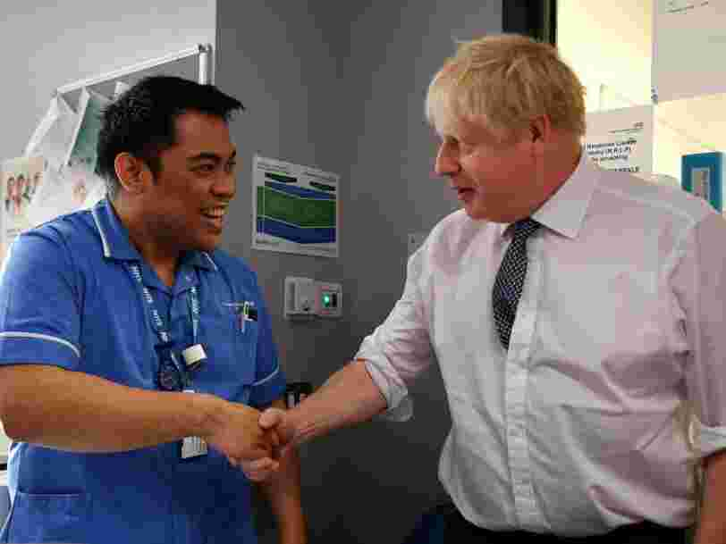 Boris Johnson continued to shake hands after his own scientific advisers warned it could spread the coronavirus