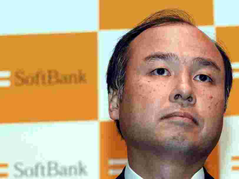 SoftBank CEO Masayoshi Son says he was 'foolish' to invest $18.5 billion in WeWork