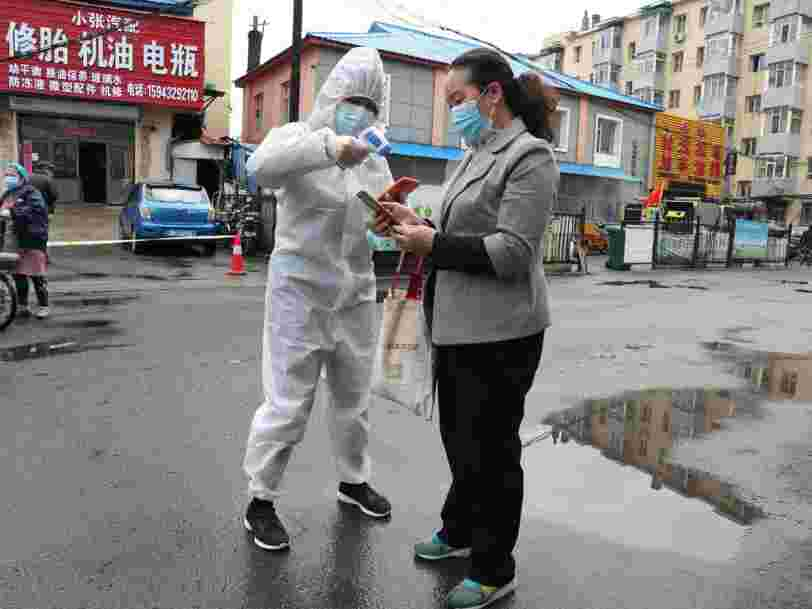 At least 25 million people in China are under enhanced coronavirus lockdowns after an outbreak of 34 cases in a province next to Russia