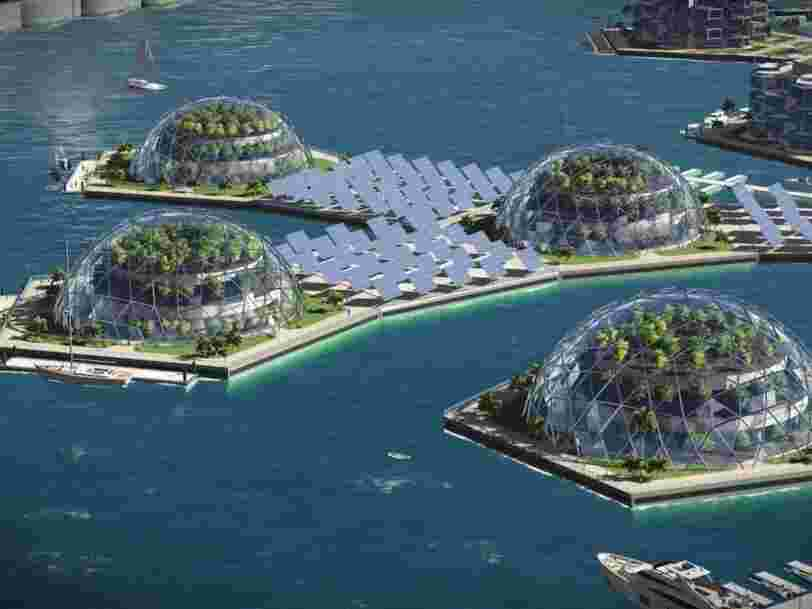 Silicon Valley's elite wants yet again to abandon land and live on floating cities in the middle of the ocean that operate outside of existing governments