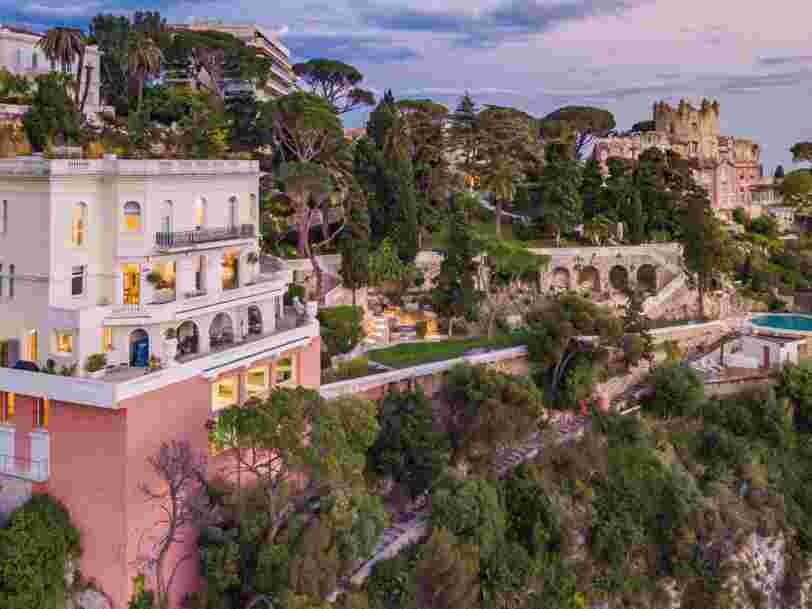 A luxury villa on the French Riviera once owned by actor Sean Connery is on the market for $34 million — and includes an indoor infinity pool, walk-in wine cellar, and fully-equipped gym. Here's a look inside.