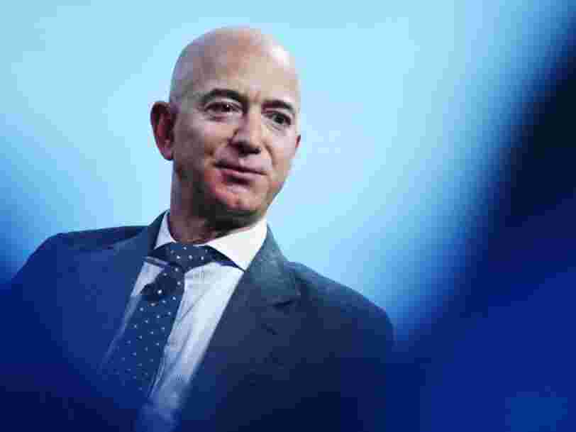 Jeff Bezos added $13 billion to his net worth on Monday, his highest one day increase yet