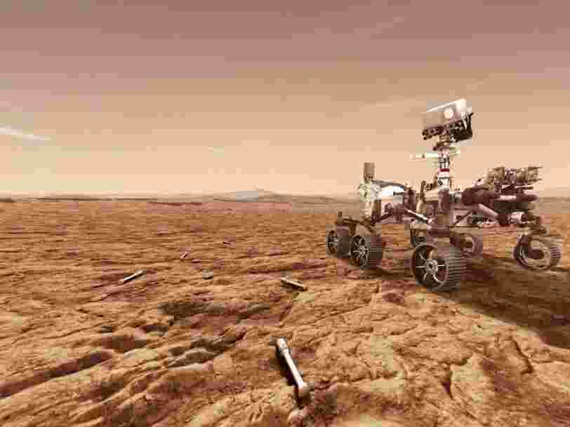 NASA's Mars rover is carrying a device that turns CO2 into oxygen, like a tree. It's a crucial step toward future human missions.