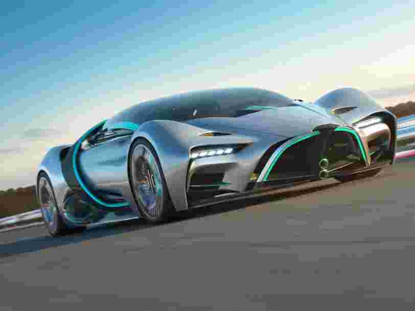The man behind the fuel cell-powered XP-1 hypercar doesn't want to sell cars. He wants to sell hydrogen.