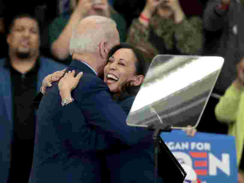 Joe Biden's VP pick Kamala Harris has held prominent roles in California politics since 2004. Here are the tech moguls and A-list Hollywood bigwigs who have supported her over the years.