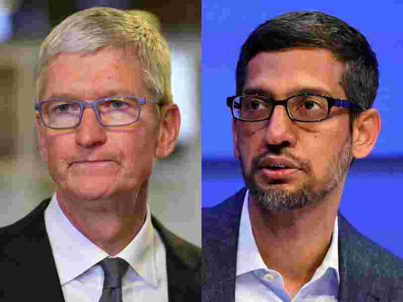 Google paid Apple up to $12 billion for a search engine deal that disadvantaged competitors, landmark antitrust suit claims