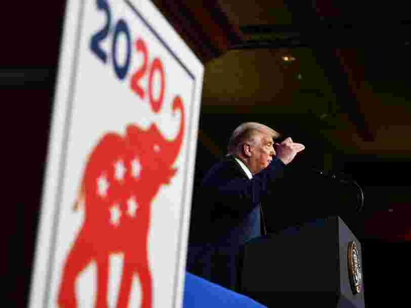 Trump's acceptance speech at the RNC was an exercise in misinformation that didn't stack up with reality