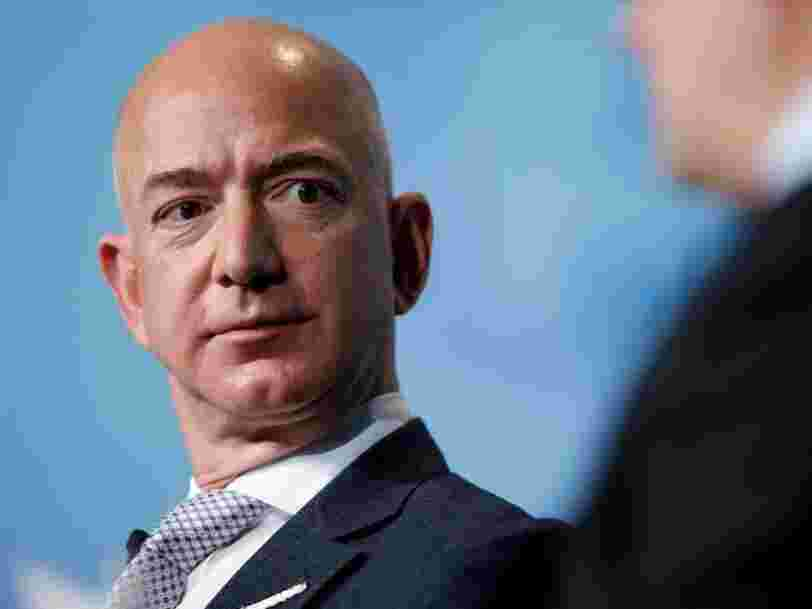 Protesters set up a guillotine outside Jeff Bezos' mansion and demanded higher wages for Amazon workers after the CEO's net worth surpassed $200 billion