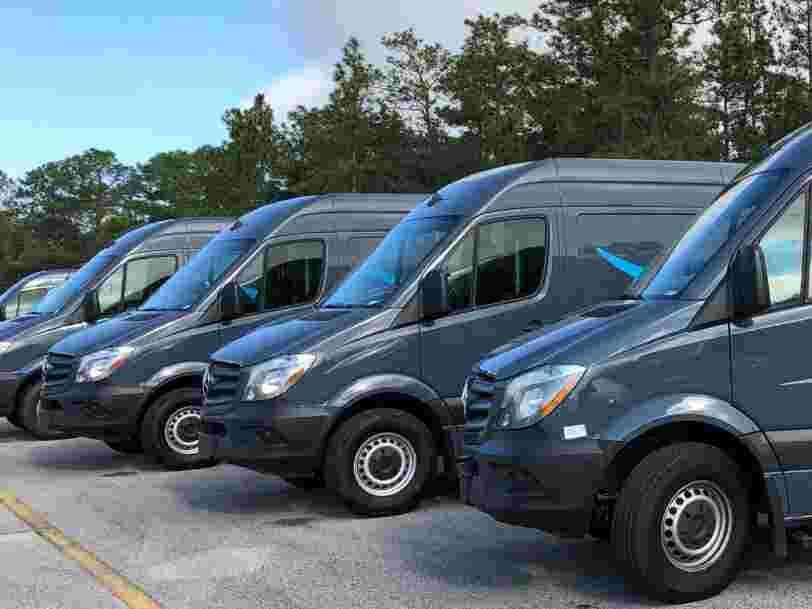 Amazon orders 1,800 Mercedes-Benz electric vans for European deliveries as part of its climate change pledge