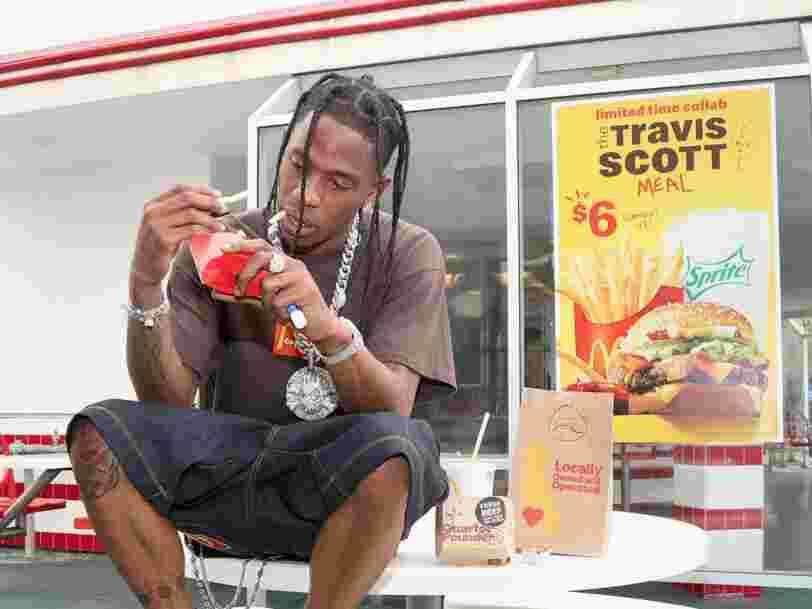 McDonald's is running out of burgers because of the massive popularity of the Travis Scott Meal
