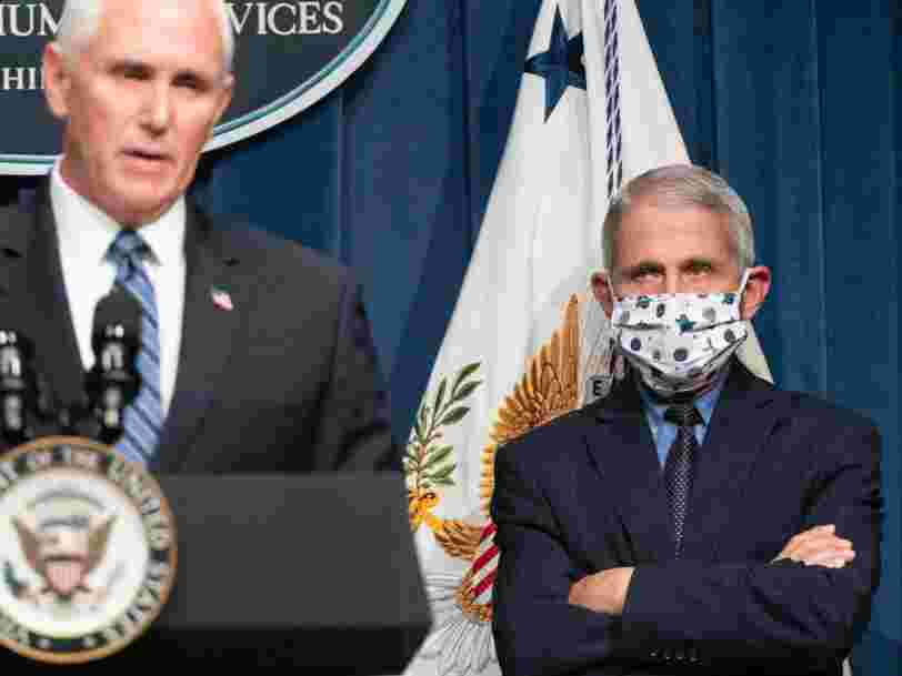 Fauci: We'll likely be wearing masks for most of 2021, even after a vaccine rolls out