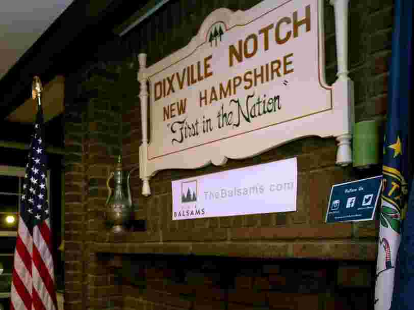 Dixville Notch, New Hampshire, a township with just 5 eligible voters, just released some of the first results of the presidential election: All 5 votes for Biden