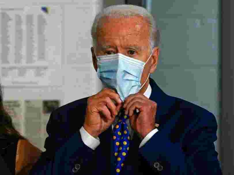 Biden congratulates Pfizer on its COVID-19 vaccine news but warns widespread availability is 'many more months' away