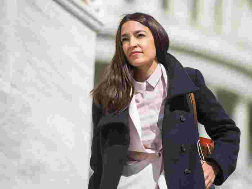 AOC says Biden's infrastructure plan is way too small - she wants a $10 trillion package