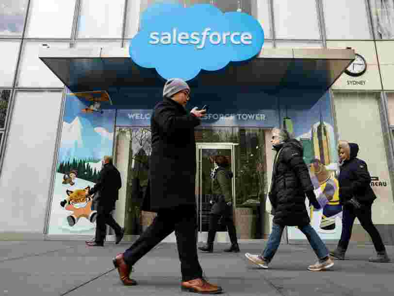 Salesforce has reportedly held talks to buy office messaging app Slack