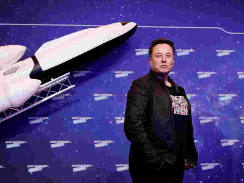 Elon Musk reveals Tesla's plan to be at the forefront of a self-driving-car revolution - and why he wants to be buried on Mars