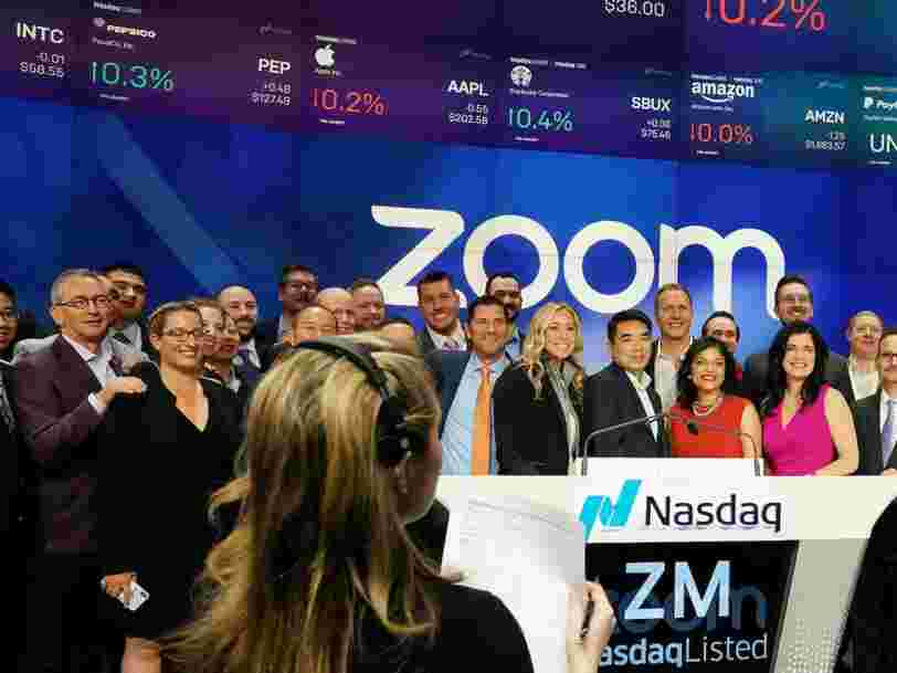 Zoom stock downgraded by JPMorgan after 505% rally on concerns a COVID-19 vaccine could dent further upside