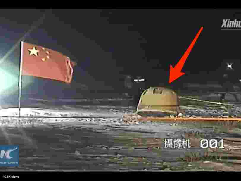 A Chinese spacecraft just brought moon rocks back to Earth - the first time any country has achieved the feat since 1976
