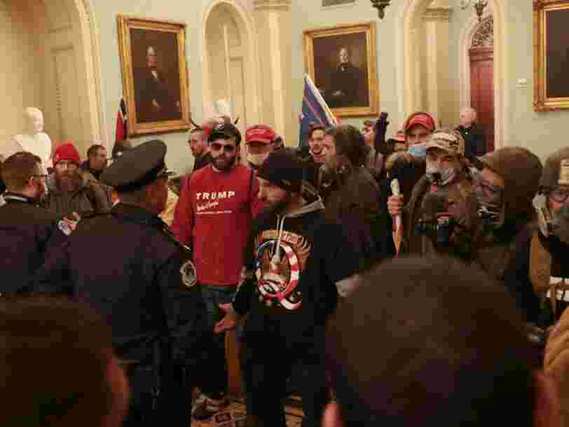 QAnon supporters believed marching on the Capitol could trigger 'The Storm,' an event where they hope Trump's foes will be punished in mass executions