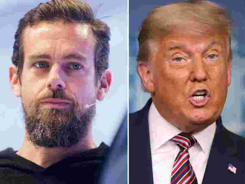 Jack Dorsey breaks his silence on Twitter's decision to ban Trump after Capitol riots