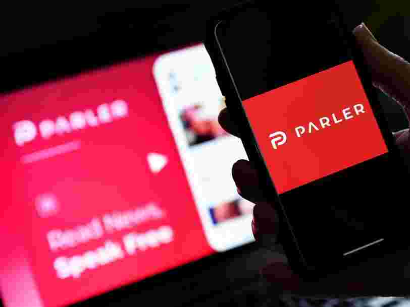 Apple has banned Parler from its app store for failing to remove content that promotes violence