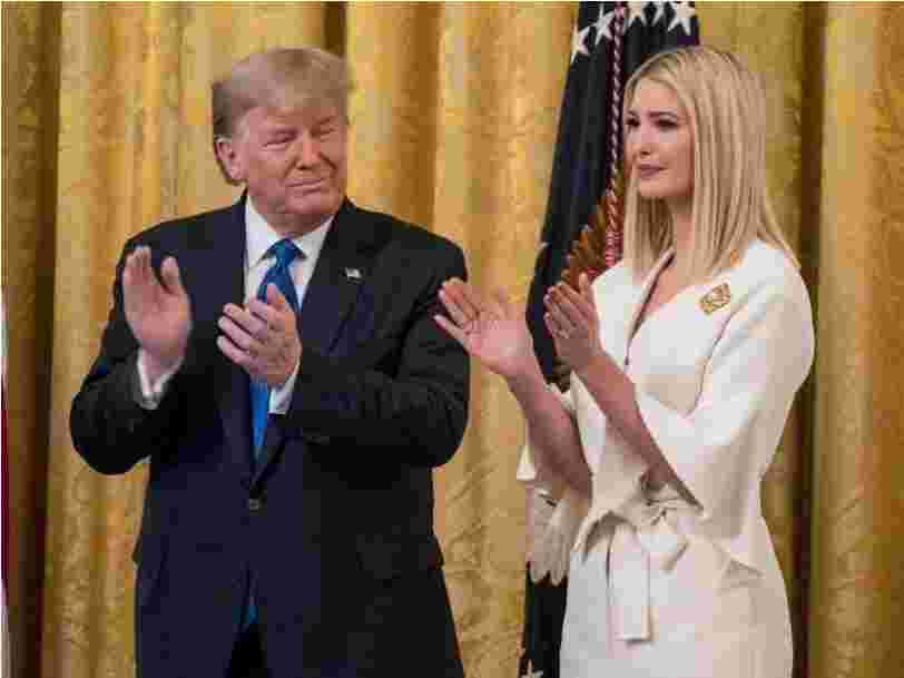 Trump is angry at Ivanka and Jared Kushner after she spoke about going to Biden's inauguration, source tells Insider