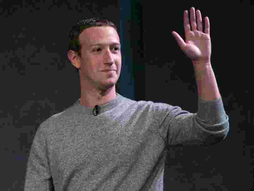 Mark Zuckerberg made a surprise appearance on the world's buzziest social network to talk about the future