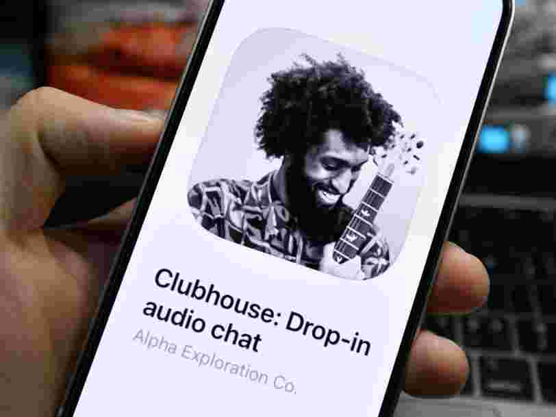 Clubhouse users should assume they're being recorded, a data-privacy expert said, following a breach that sent conversations to another website