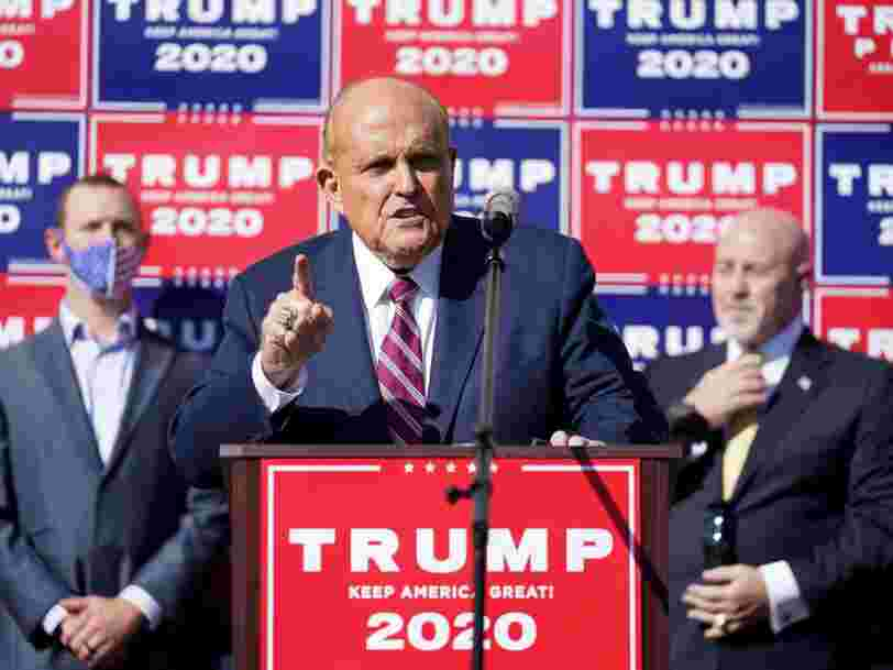 Georgia prosecutor calls Giuliani's election claims 'various overt acts for an illegal purpose' that could warrant a racketeering charge