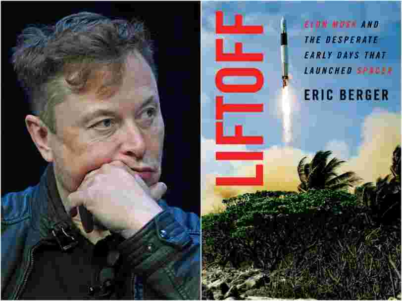 SpaceX once left its rocket engineers on an island without food, leading them to mutiny, according to a new book