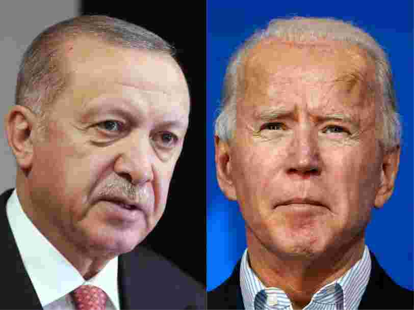 Turkish President Erdogan keeps getting ignored by Biden, and looks desperate to get his attention