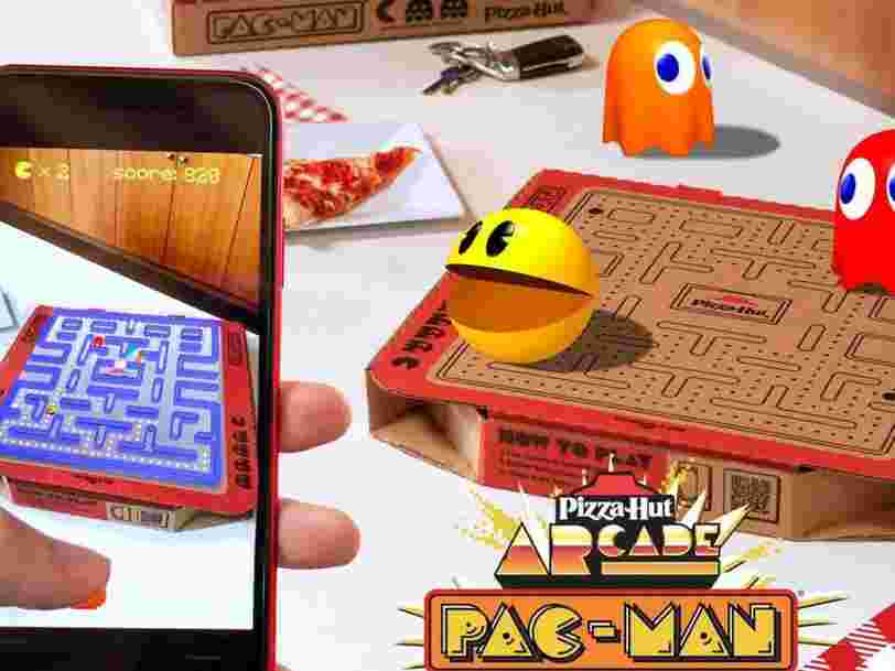 Pizza Hut is launching augmented reality pizza boxes that you can play 'Pac-Man' on. The company's CMO tells Insider why it's using the gaming icon in its 'Newstalgia' campaign.