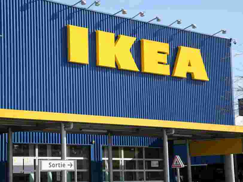 IKEA says it could have supply chain issues because of the Suez Canal blockage