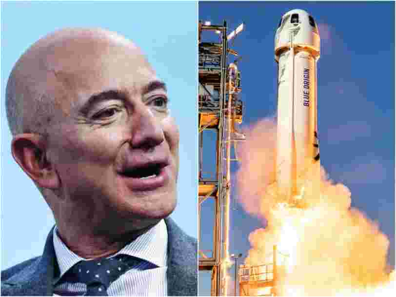 More than 185,000 people have signed petitions to stop Jeff Bezos from returning to Earth