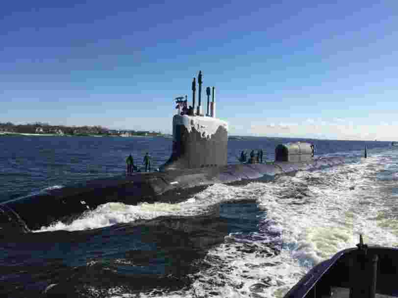 The US Navy says parts on its Virginia-class attack submarines are breaking sooner than expected