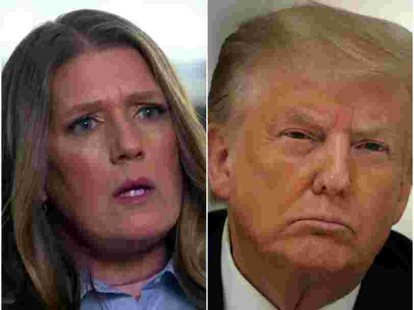 Mary Trump says Trump used his infamous 'it is what it is' dismissal when she brought up concerns about her father's burial