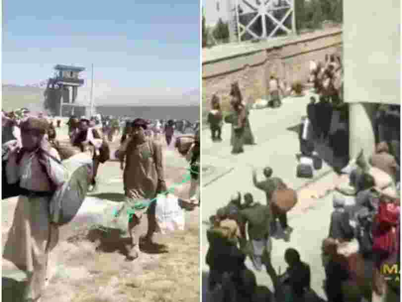 Video shows thousands of prisoners, reportedly including Islamic State and al Qaeda fighters, freed from Kabul jail by the Taliban