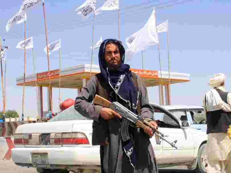 The Taliban is blanket banned on Facebook and YouTube, but not on Twitter
