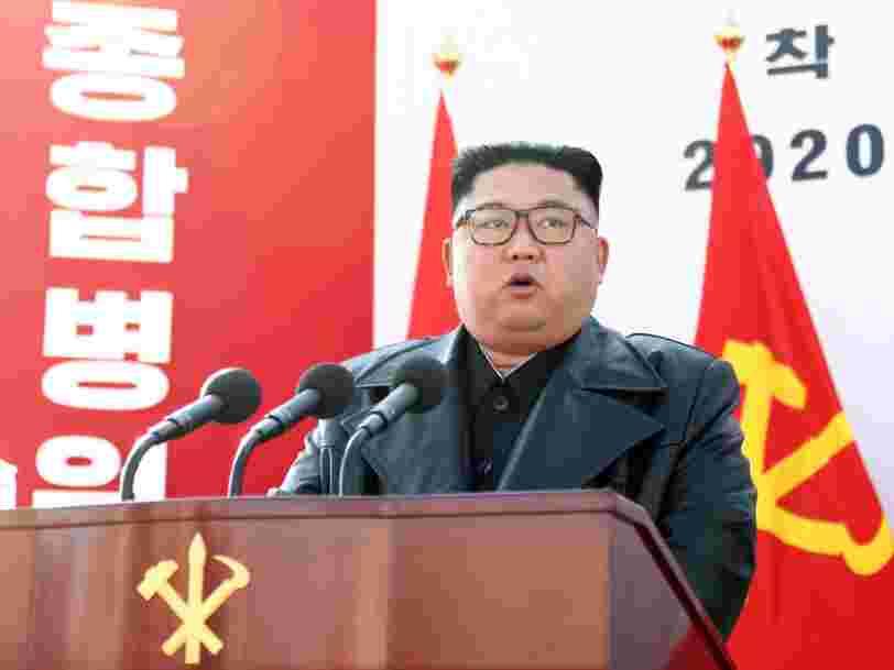 """La Corée du Nord doit 'tout faire pour construire l'appareil militaire le plus puissant"""", selon Kim Jong Un"""