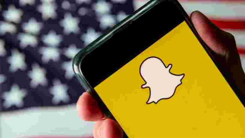 Snapchat bannit à son tour définitivement Donald Trump de sa plateforme