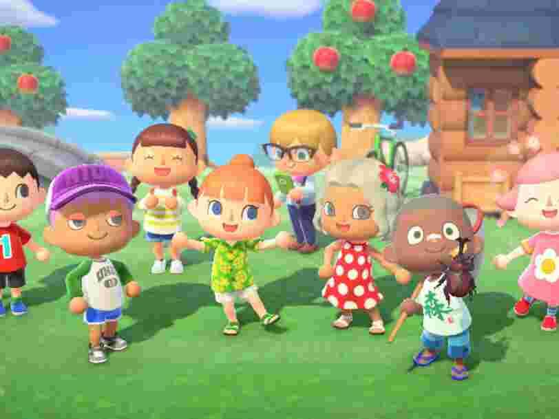 'Animal Crossing' est le jeu le plus vendu de 2020 en France, et met fin à la suprématie de 'FIFA'