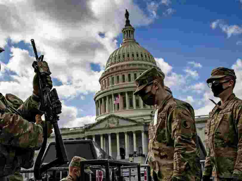 Investiture de Joe Biden : la Garde nationale veut identifier les menaces dans ses propres rangs