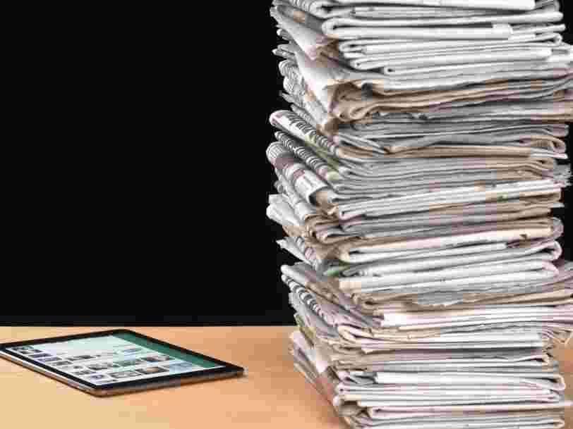 Près de 70% des Français lisent la presse en ligne plutôt que sur papier